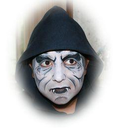 Halloween Vampire Face Painting Halloween Face Painting