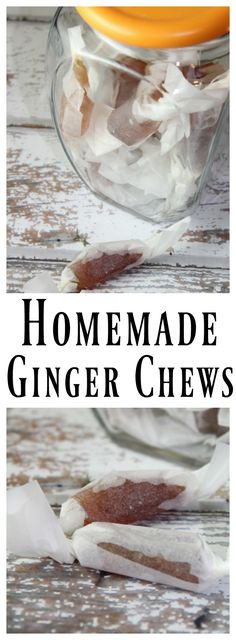 These Ginger Chews are so amazingly easy to make - and great for icky tummies, nausea, or even morning sickness.