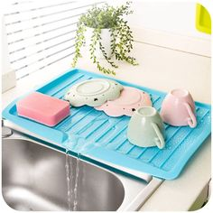 vanzlife companion dishes sink drain pallets plastic filter plate storage rack k…
