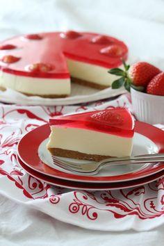 no - krem.no Mousse Cake, Panna Cotta, Nom Nom, Cheese, Ethnic Recipes, Dessert, Food, Pastry Chef, Postres