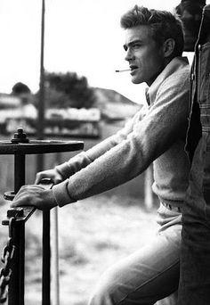 James Dean  Men's fashion, American!   www.dougbirnbaum