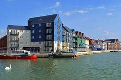 Littlehampton Harbour, West Sussex, England