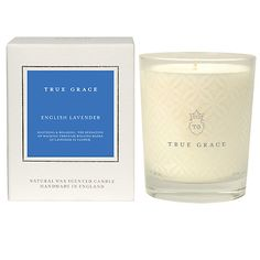 For Grandma - Buy True Grace English Lavender Classic Candle Online at johnlewis.com