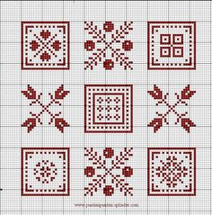 no color chart available, just use pattern chart as your color guide. or choose your own colors. Biscornu Cross Stitch, Cross Stitch Bookmarks, Counted Cross Stitch Patterns, Cross Stitch Designs, Cross Stitch Embroidery, Cross Stitch Boards, Cross Stitch Love, Cross Stitch Flowers, Crochet Cross