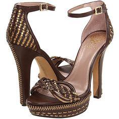 Vince 'Camuto Mevin' Woven Ankle Strap Sandal