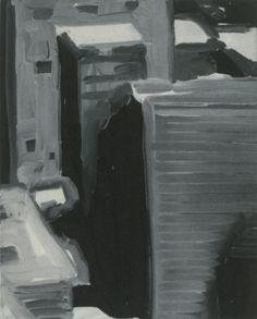 Gerhard Richter, Stadtbild (Townscape) 1968, 53 cm x 43 cm, Catalogue Raisonné…