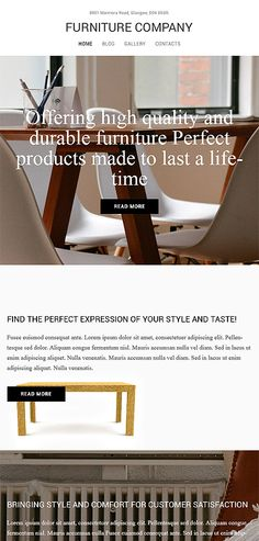 Interior & Furniture website inspirations at your coffee break? Browse for more  WordPress responsive #themes!// Regular price: $72 // Sources available: .PSD, .PHP, This theme is widgetized #Interior #Furniture #MostPopular #WordPress #portfolio #work #creative #ideas #services #awards #order #delivery #company #team #support #nonstandard #catalogue #product #clients #style #designers #decoration #furniture #profile #collection #tools #advices #exterior #lamp #customers