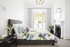 LITTLE WILLOW — Adore Home Magazine King Furniture, Furniture Design, Royal Oak Floors, Bedroom Fireplace, Melbourne House, Character Home, Front Rooms, Contemporary Classic, Sheer Curtains