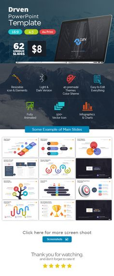 Activa powerpoint presentation template pinterest powerpoint thank for purchasing drven powerpoint templateis power point presentation set with 169 43 and a4 print sizes drven powerp wajeb Gallery