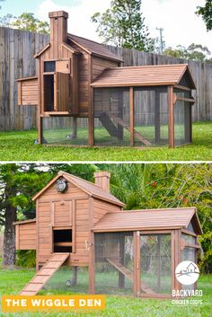The Wiggle Den gives your rabbits more space to hop happily about! Your floppy eared bunnies will adore living in the Wiggle Den. Find out more here, https://www.backyardchickencoops.com.au/other-enclosures/rabbit-hutches/wiggle-den/ #loveyourrabbits #rabbithutch #wiggleden