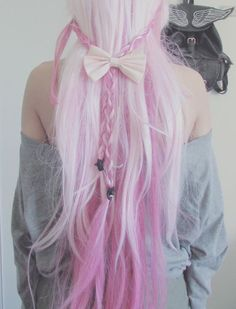 perfect pink hair.