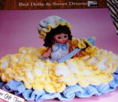 1000+ images about Crochet Bed Pillow Dolls on Pinterest ...