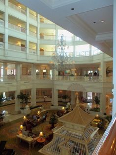 Grand Floridian where Jon and I ate our first night of our honeymoon.