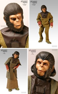 Everything about the mighty PLANET OF THE APES saga, from the original novel, via the classic films of the and right up to the 2011 reboot. Classic Horror Movies, Classic Toys, Classic Movies, Sci Fi Movies, Good Movies, Plant Of The Apes, Vintage Toys 1960s, Tv Themes, Cornelius