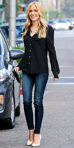 Kristin Cavallari - mom fashion. For more information on how to look good after baby go to www.auraimageconsulting.com