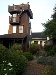 Mendocino Water Tower- We stayed in summer of 2012- beautiful views, lovely garden, and a great little town.