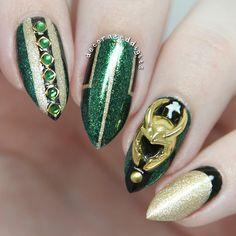 Loki nail charms!