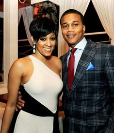 Tia Mowry w/ husband Cory Hardrict Black Celebrity Couples, Black Love Couples, Cute Couples, Power Couples, Black Actors, Black Celebrities, Celebs, Celebrities Fashion, Celebrity Gallery