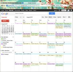Using google to organize your business