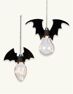 ❤️$19.95, love these!!❤️ Bat Bulbs (Set Of 2)