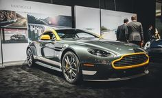 Aston Martin debuts bundle-priced Vantage GT coupe and roadster for Read more and see the photos at Car and Driver. Aston Martin Vantage Gt3, Aston Martin V8, Aston Martin Vanquish, Automobile Companies, Latest Cars, Car Wallpapers, Manual Transmission, Automotive Design, Sport Cars
