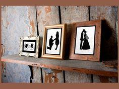 Silhouettes, silhouettes, silhouettes  Prettyfacesdesign@gmail.com