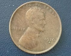 1961 D Lincoln penny Rare Pennies, Penny 1, Old Coins, Medicinal Plants, Lincoln, Handmade Items, Eye, Personalized Items, Coining