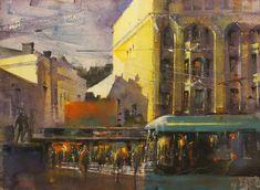 KEVÄÄN VALOA Watercolours, Painting, Art, Art Background, Painting Art, Kunst, Paintings, Performing Arts, Painted Canvas