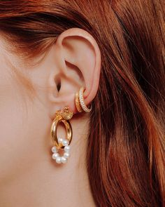"""eve's JEWEL on Instagram: """"Precious things on your 👂🏻✨ Tap for more... #evesjewel #choosehandmade"""" Eve, Pearl Earrings, Jewels, Handmade, Instagram, Fashion, Moda, Pearl Studs, Hand Made"""