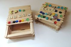 Popsicle Stick Box | 16 Crafts You Loved Making As A Kid