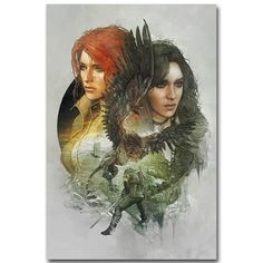 Yennefer  - The Witcher 3 Wild Hunt Art Silk Poster Print 13x20 24x36 inch Hot Game Pictures for Living Room Decoration 020
