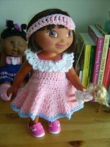 "The Little Top That Grew 1-15 "" doll - Free Original Patterns - Crochetville"