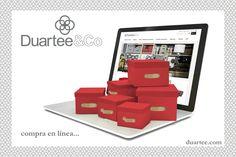 Compra en línea en www.duartee.com y #ViveDuartee con nuestras #CajasdeCarton y toda la línea de Duartee&Co