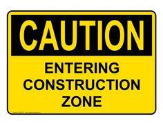 ComplianceSigns Aluminum OSHA CAUTION sign 10 x 7 in. with Construction message - Yellow ComplianceSigns http://www.amazon.com/dp/B00IARXYY4/ref=cm_sw_r_pi_dp_G9bkwb0QBY8BX