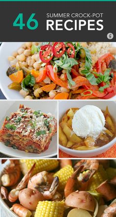 Don't put away the slow cooker just because it's warm out! #crockpot #recipes #summer
