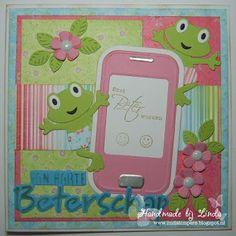 Handmade by Linda: Snel beter worden. Marianne Design, Scrapbook Cards, Scrapbooking, Creative Cards, Get Well, Paper Piecing, Wells, Handmade Crafts, Smartphone