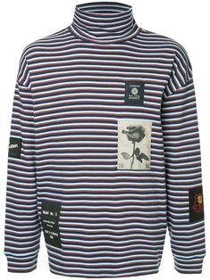 4a6234368a HAIDER ACKERMANN bleach and stripe print shirt £1,165 | Casual Suits |  Stripes fashion, Printed shirts, Mens fashion