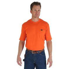 Wrangler Men's Riggs Workwear Short Sleeve Pocket T-Shirt (Size: Medium Regular)