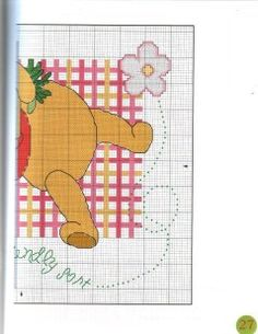 Pooh w/ flowers 2 of 2