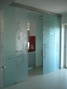 Casali porte in vetro vetro beta solution 2 1 ante doppie - Casali porte scorrevoli ...