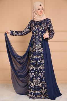 2020 bridal dresses styles ** NEW PRODUCT ** Sequined Sequins Hijab Evening Dress Laci Product code: -. Hijab Evening Dress, Hijab Dress Party, Hijab Style Dress, Evening Dresses, Stylish Dresses, Modest Dresses, Simple Dresses, Fashion Dresses, Indian Gowns Dresses