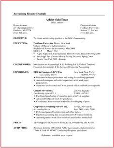 Student Development Resume Workshop Examples Job Objectives