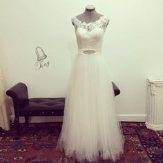 Custom Angel Wedding Dress GownMade to orderDeep V by TingBridal, $1000.00