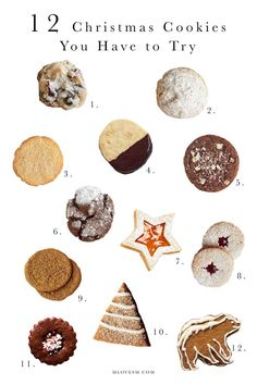christmas cookies box Weihnachtspltzchen 12 Christmas Cookies You Have to Try! - M Loves M marmar Cookies Box, Holiday Cookies, Holiday Baking, Christmas Desserts, Christmas Baking, Cranberry Cookies, Christmas Cookie Boxes, Christmas Food Gifts, Christmas Cookies Cutouts