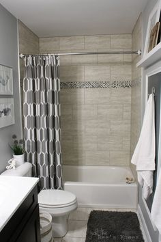 Love this calm neutral bathroom! Ned this for the upstairs bathroom... No ocean themes though!