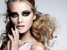 dark deep #smokey #eyemakeup with light #nudelips #makeup look