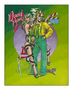 David Bowie - Peter Pontiac - Griffioen Grafiek