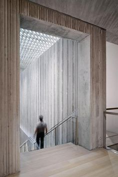 Clyfford Still Museum - Allied Works Architecture  Board-Formed Concrete Walls