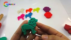 DIY Learn Colors Play Dough Cookies Monster Lion King Creative For kids