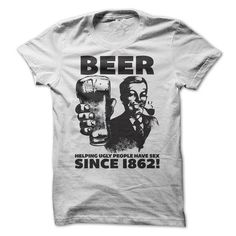 Beer Helping Ugly People Have Sex T-Shirt Hoodie Sweatshirts iuo. Check price ==► http://graphictshirts.xyz/?p=66643